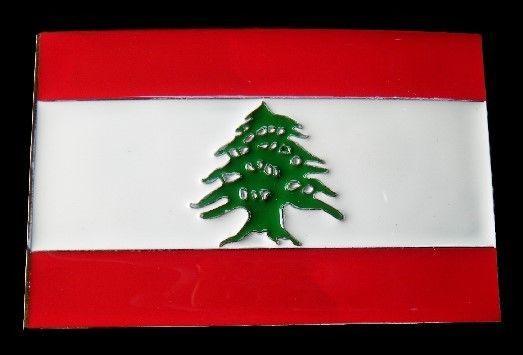 LEBANON LEBANESE NATIONAL FLAG MIDDLE EAST LIBAN BELT BUCKLE BOUCLE DE CEINTURE | eBay #lebanon #lebanese #lebanonflag #lebanaeseflag #middleeast #flagbuckle #beltbuckle