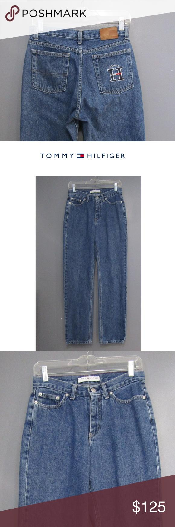 Vintage Tommy Hilfiger Canada Blue Jeans Size 4 Tommy Hilfiger Clothes Design Tommy Hilfiger Jeans