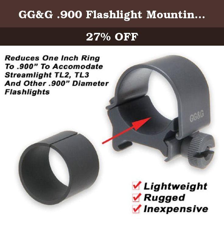 GG&G .900 Flashlight Mounting Ring Insert for Streamlight TL2 & TL3 Lights. GG&G .900 Flashlight Mounting Ring Insert for Streamlight TL2 & TL3 Lights GGG-1248.