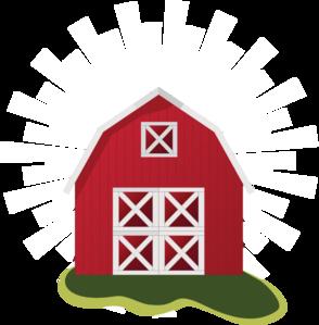 red barn clip art vector clip art online royalty free public rh pinterest com red barn clipart