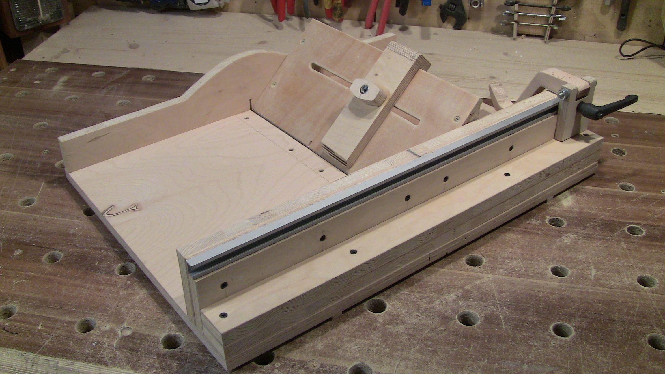 schiebeschlitten f r die tks bauanleitung zum selber bauen troppy s projekte pinterest. Black Bedroom Furniture Sets. Home Design Ideas