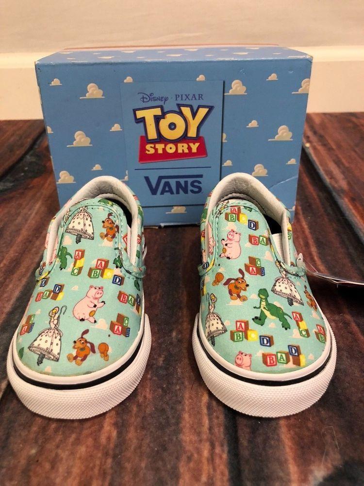 NIB Vans Classic Slip-On Disney Pixar