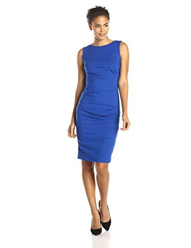 Nicole Miller Women's Lauren Ponte Dress - http://bigboutique.tk/product/nicole-miller-womens-lauren-ponte-dress/
