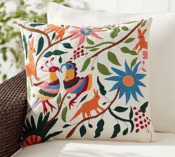 Outdoor Patio Pillows All Weather Pillows Pottery Barn
