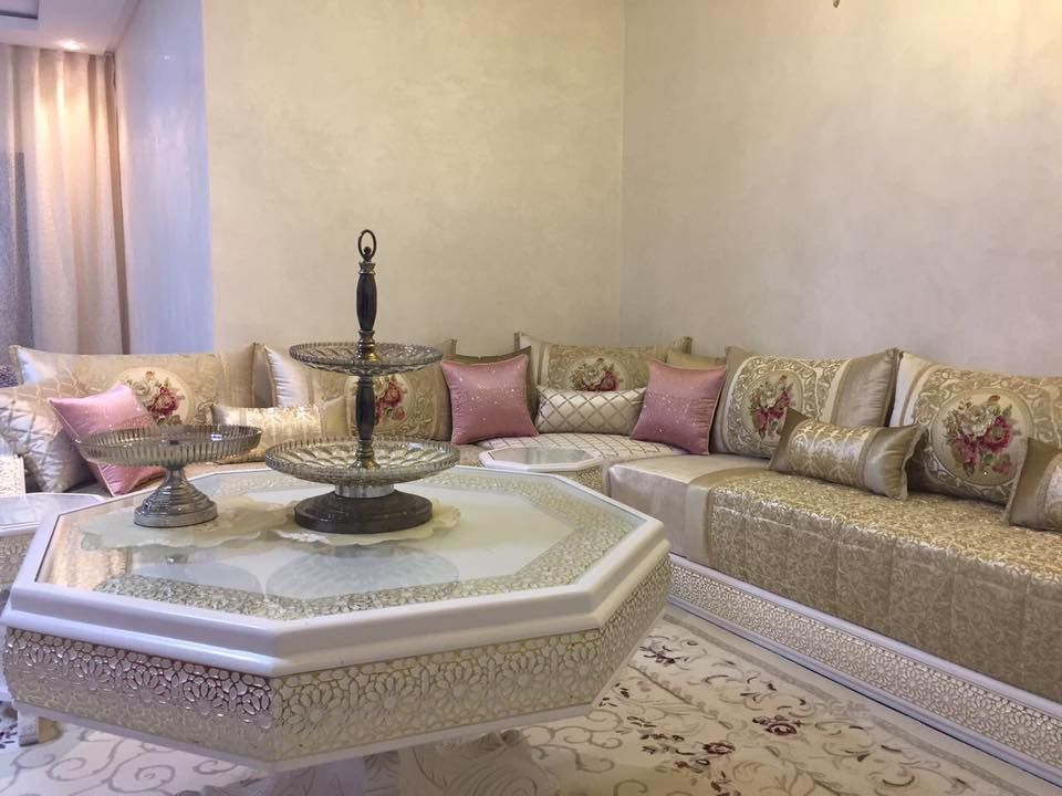 Salon marocains | Everything in 2019 | Moroccan furniture, Moroccan ...