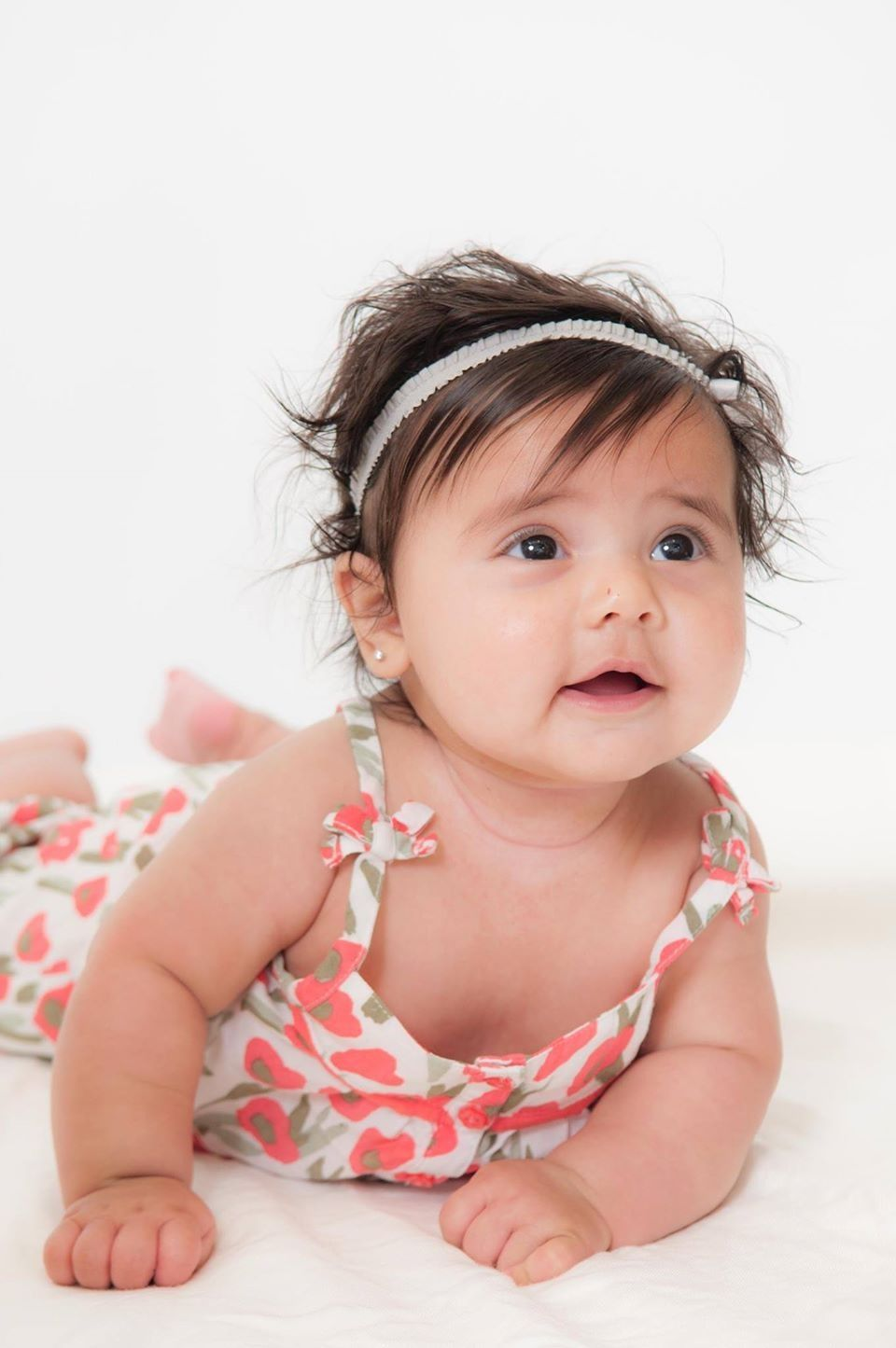 Monthly baby session