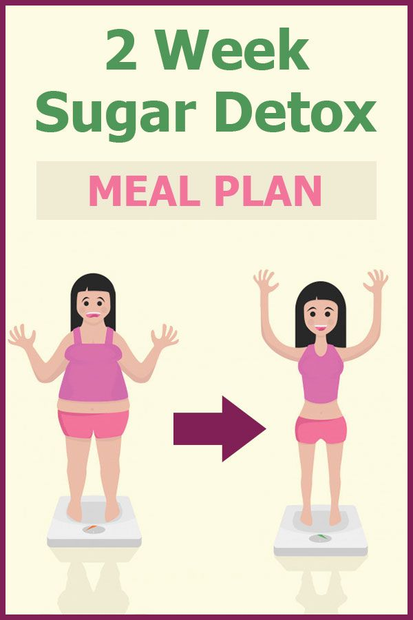 The first few days will be the hardest, but if you follow this sugar detox plan accordingly you'll start feeling amazing in no time, we promise #sugar #detox #plan #twoweeks #sugardetoxplan