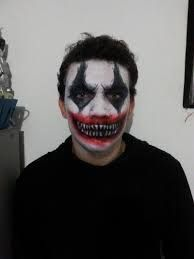 scary clown makeup for men - Google Search