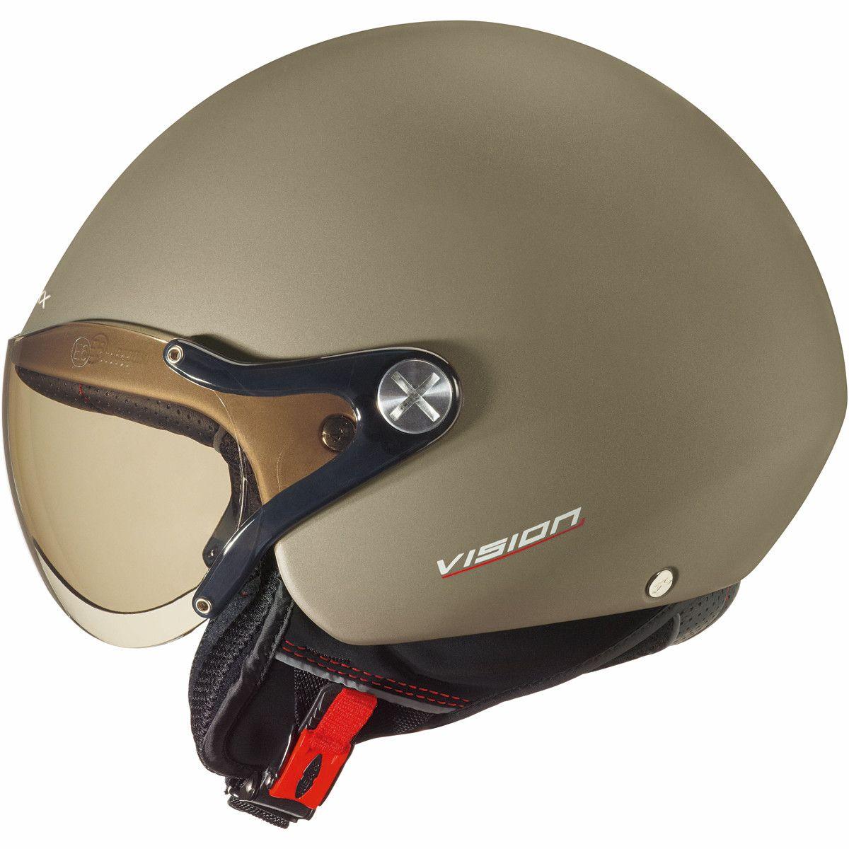 6892fe4f Nexx X60 Vision Plus Helmet in Khaki - Stylish, lightweight, composite  fibre, urban helmet with internal sun visor from #Nexx.