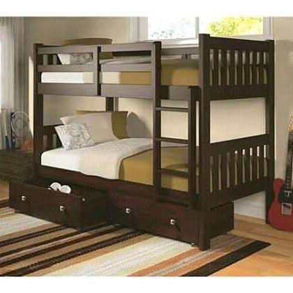 Open Order Tempat Tidur Minimalis Untuk Anak2 Dewasa Jga Bisa Kualitas Kami Jamin Dr Kayu Jati Mahoni Ke Modern Bunk Beds Bunk Bed Rooms Bunk Beds With Storage