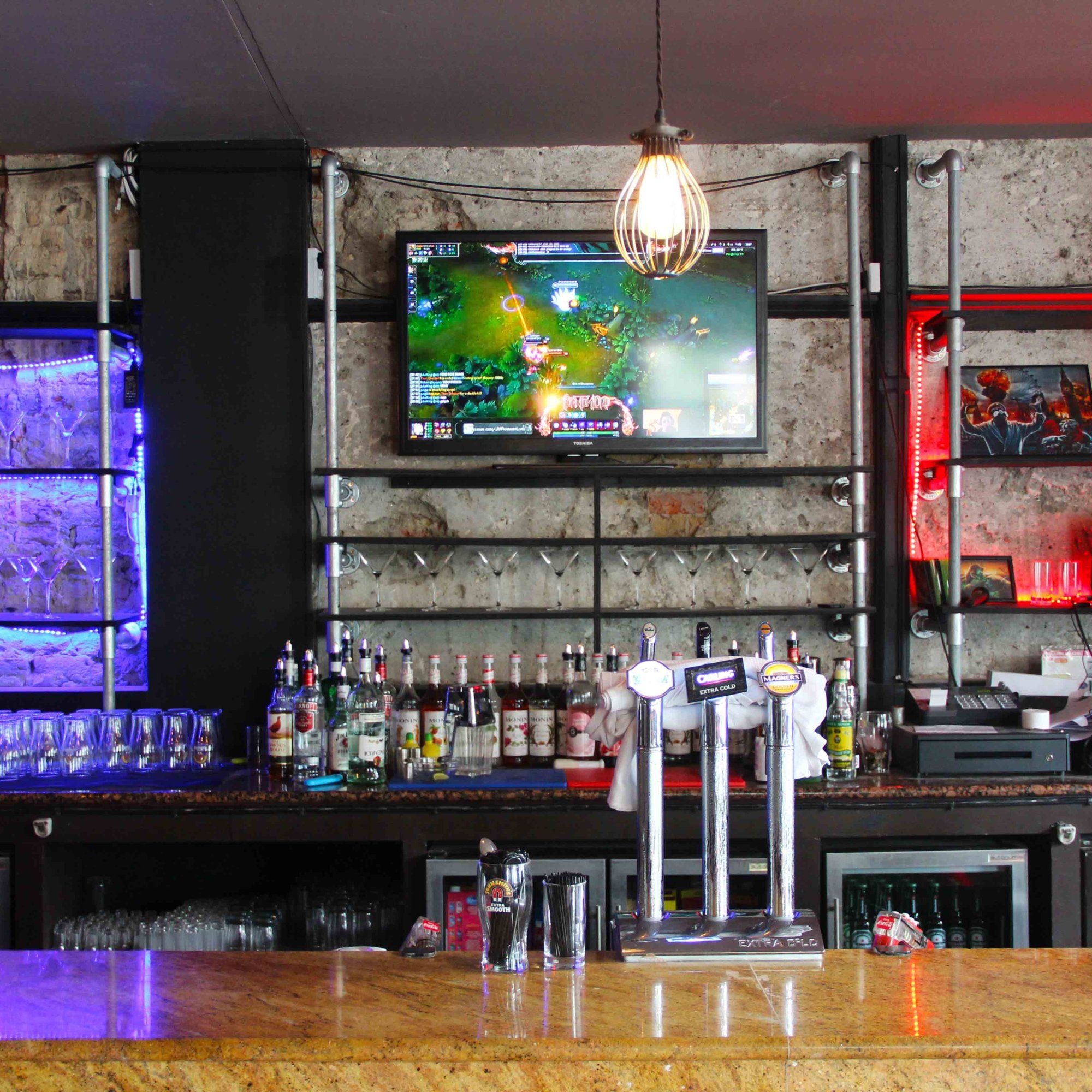 Introducing London's first video game bar Video game bar