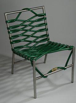 A garden hose chair!
