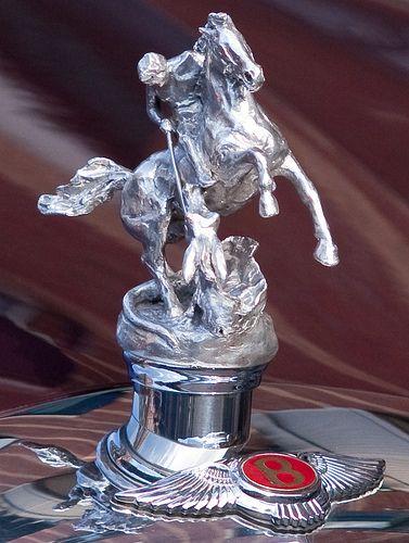 Custom Hood Ornaments >> 2002 Bentley State Limousine Custom Hood Ornament Of St George