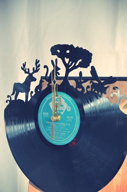 Upcycling Records This Looks Very Time Consuming But An