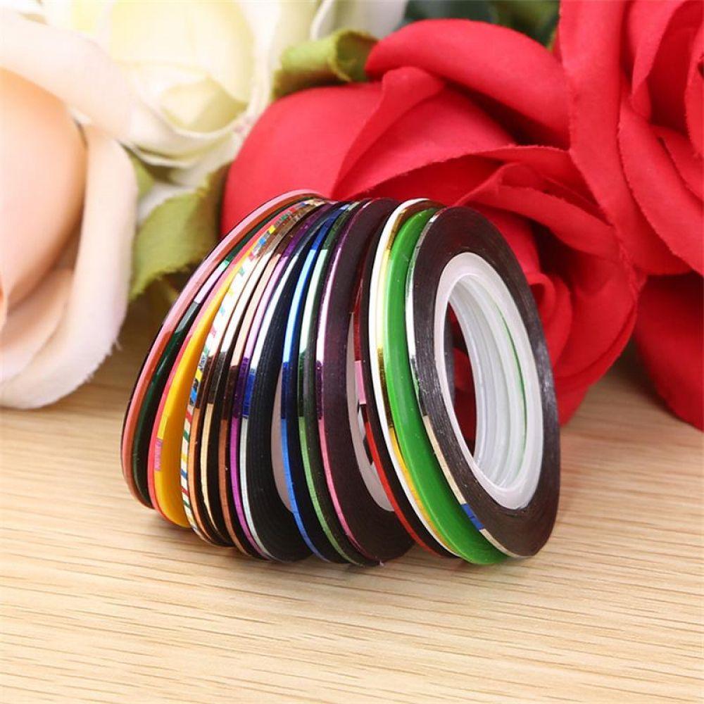 10pcs Lot Mix Colors Rolls Striping Tape Line Nail Art Decoration Sticker Diy Nail Tips Nail Manicure Tools Price 8 19 Free Shipping Https Viminshop Com 1 [ 1000 x 1000 Pixel ]