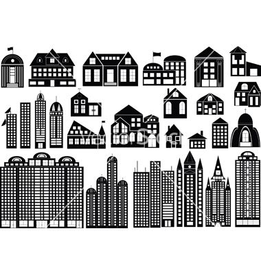 45+ Apartment Building Clipart Black And White