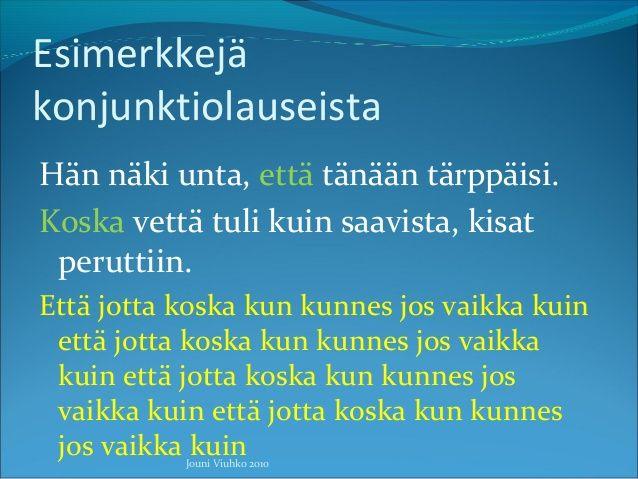Lause Ja Virke