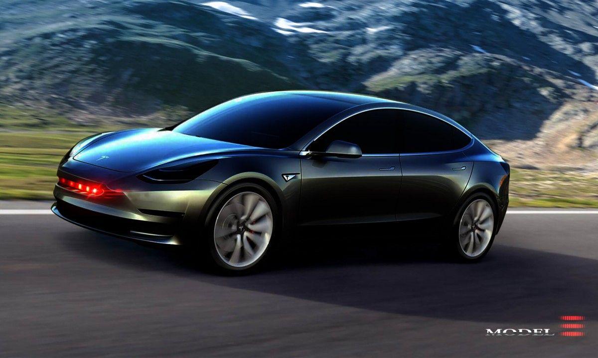 The Internet Fixes The Tesla Model 3 S Controversial Styling Tesla Model 3s Tesla Model Tesla