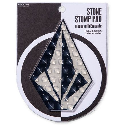 Stick the Volcom Stone Stomp Pad on your snowboard so you don't take digger when you're sliding over to the lift line.