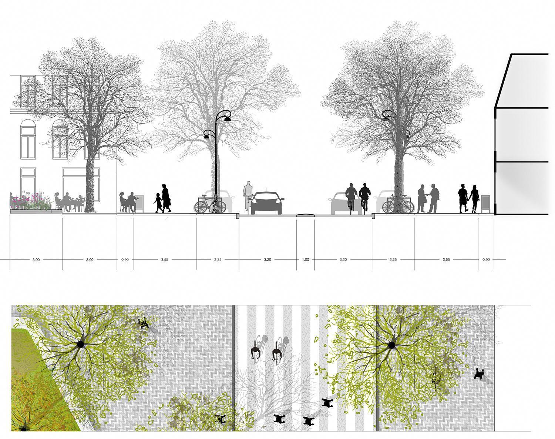 Transformatie Amsterdamsestraatweg Van Start Utrecht Delva Landscape Architects Urbanlandscapea Urban Landscape Landscape Architecture Landscape Architect