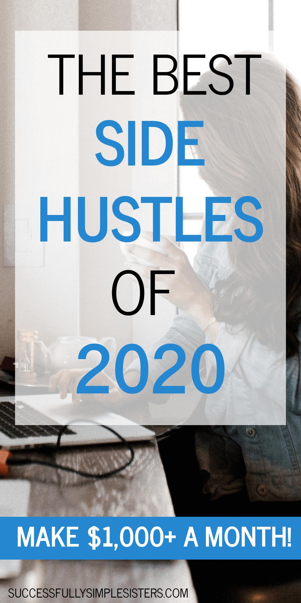 The Best Side Hustles for 2020 in 2020 Side hustle