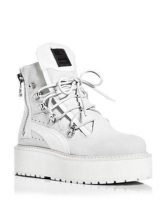 468eaa51d75ce6 FENTY Puma x Rihanna Women s Platform Sneaker Boots