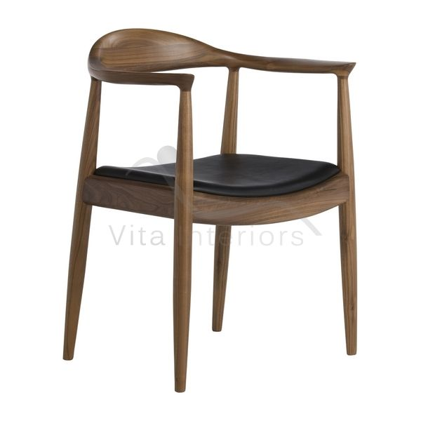 Hans J Wegner Style PP503 Kennedy Chair Walnut