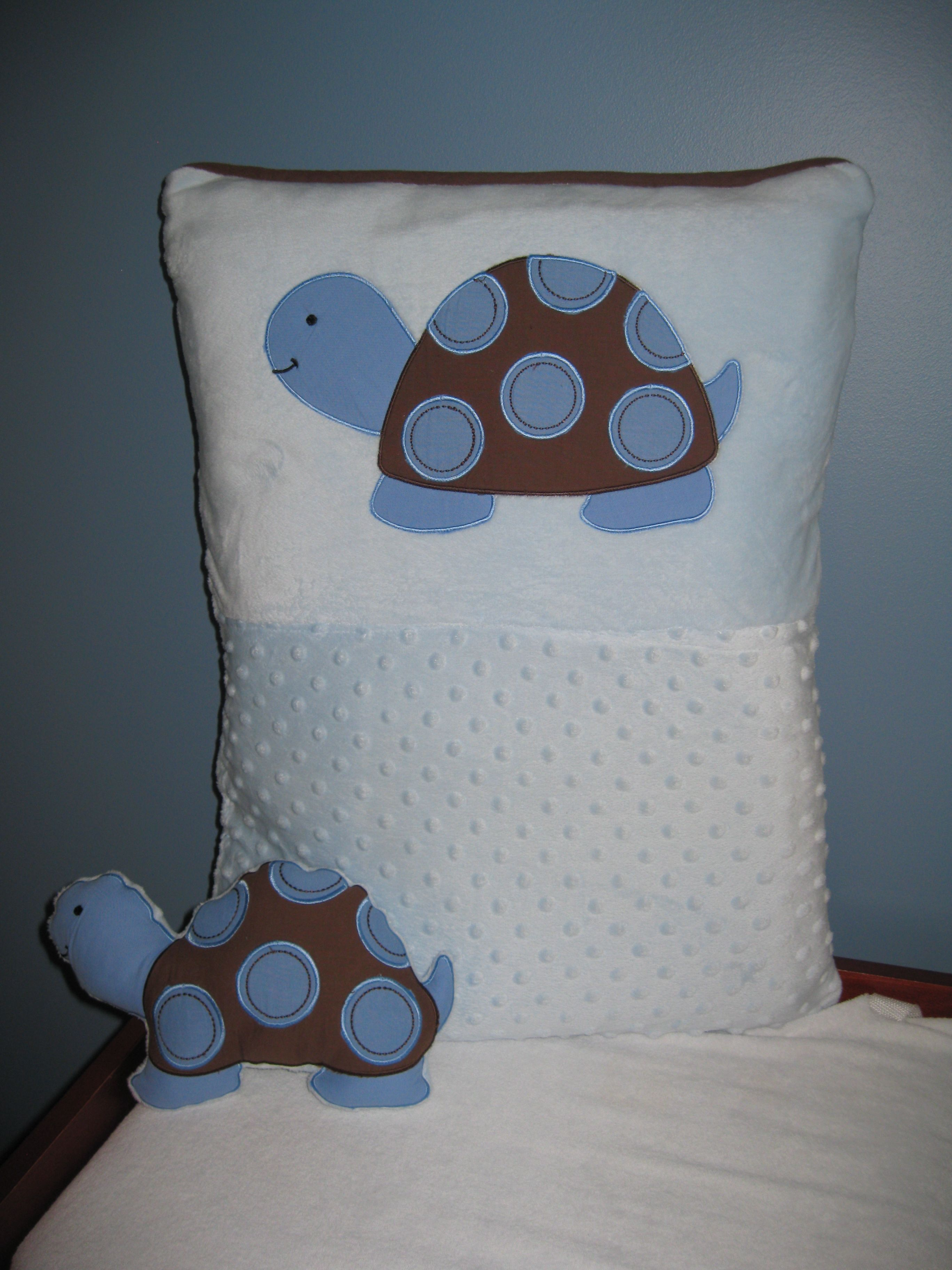 Photo two of the bumper pad do-over! Floor pillow and stuffed animal ...