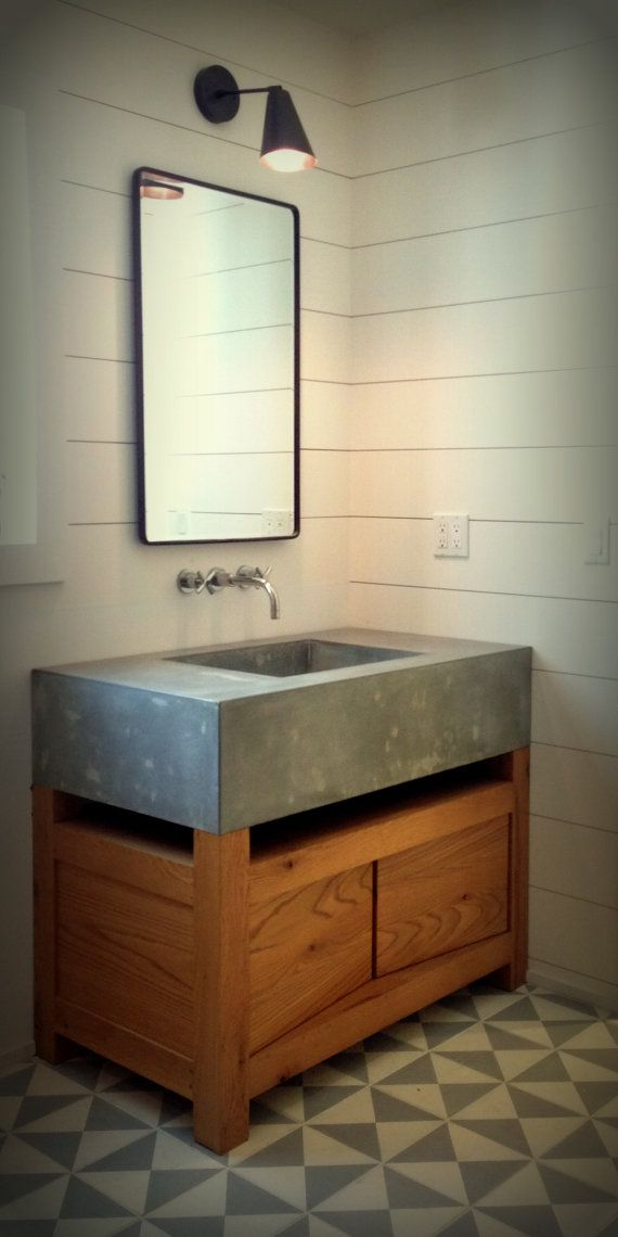 Beau Hand Craft Sink Cast And Mold, Concrete Hand Sink, Light Concrete,  Penetrate Sealer To Prevent The Most For Concrete, Dimensions: 42 X 36 X  10. $1200.