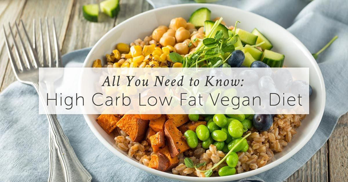 Learn all about the high carb low fat vegan diet here. Why