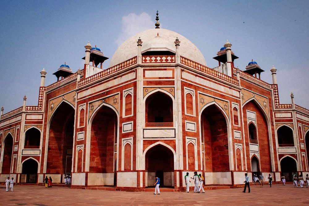 Humayun s tomb new delhi india india travel for Spaces architects safdarjung
