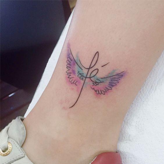 Frase: Fe con alas