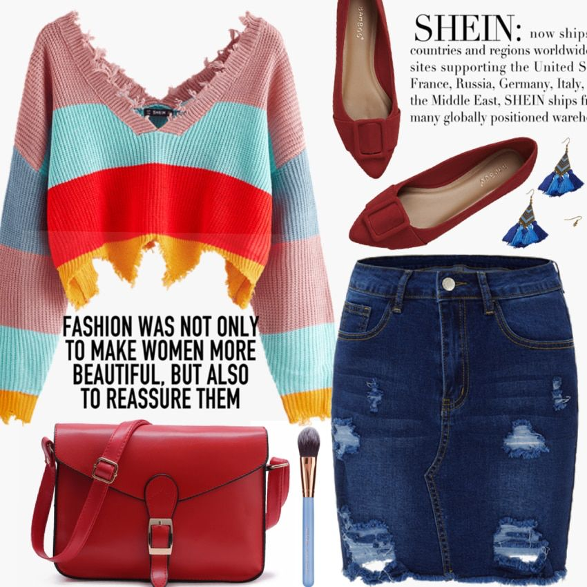 Check Out This Outfit From Shein Author Sire89 Outfits Shein Outfit Inspirations
