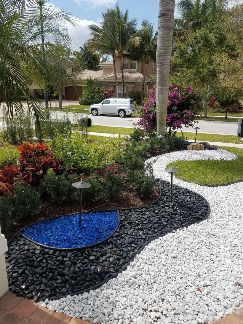 47 Fantastic White Stone Landscaping Ideas To Transform ...