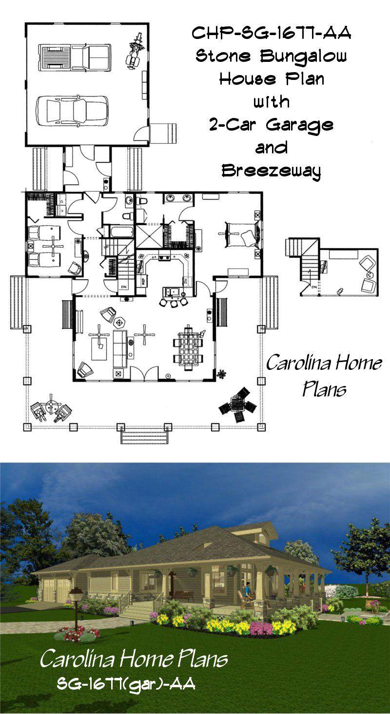 2 bedroom loft  Stone craftsman bungalow featuring  bedrooms  baths plus a