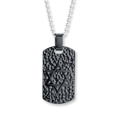 3ea219322 Men's Dog Tag Necklace Stainless Steel 22