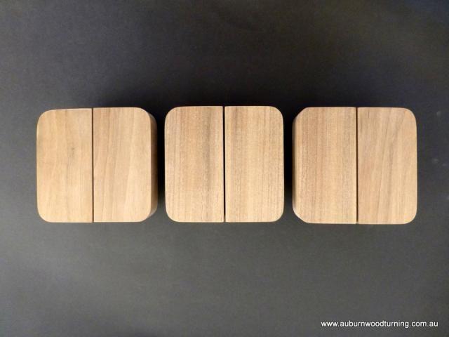 SDH003 Curved rectangular walnut handles | House ideas | Pinterest ...