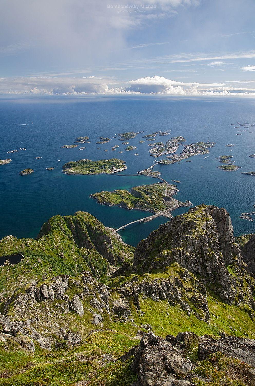 Henningsvaer Festvagtinden Norwegen Reisen Schone Landschaften Camping Norwegen