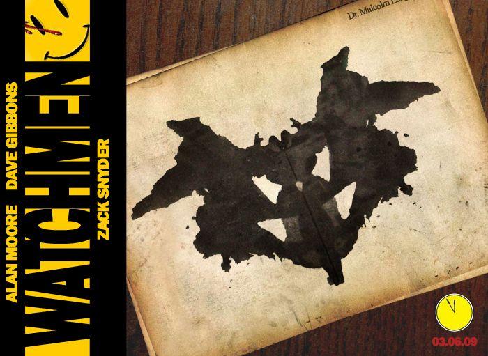Rorschach Test by willblackwell on DeviantArt