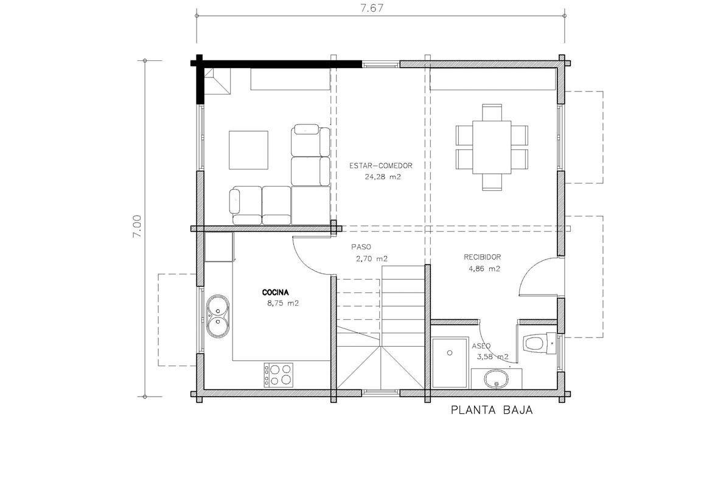 Salamanca 112 m2 ytong casas de tejado inclinado - Casas prefabricadas salamanca ...