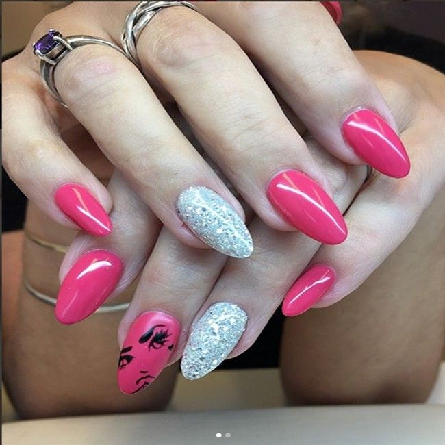 +30 Cute Almond Shaped Nails Colors You Won't Resist ...