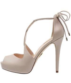 Guess Huete Zapatos De Plataforma Beige Déjate Arrastrar Por Las ... 653bec71725