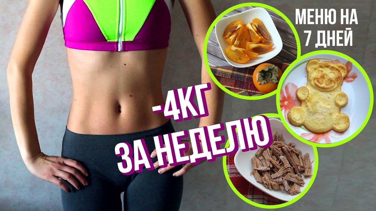 Диета правильного питания на 7 дней