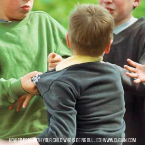 Is your child being bullied? How to handle the situation.