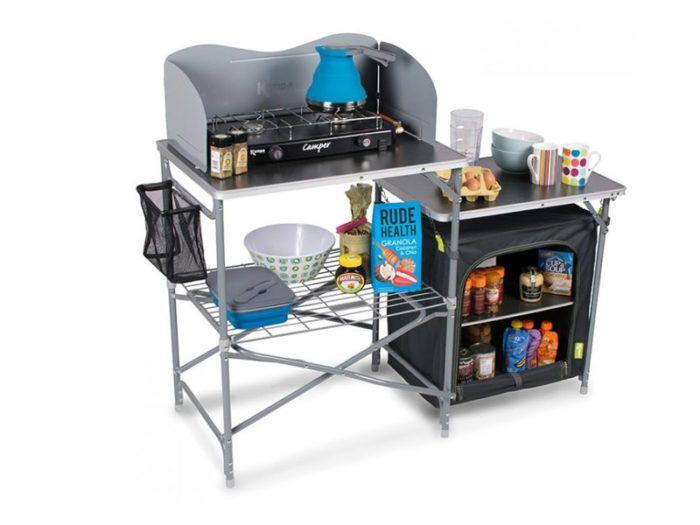 8 Kampa Commander Field Kitchen 59 99 Kitchen Stand Camping Kitchen Stand Camp Kitchen