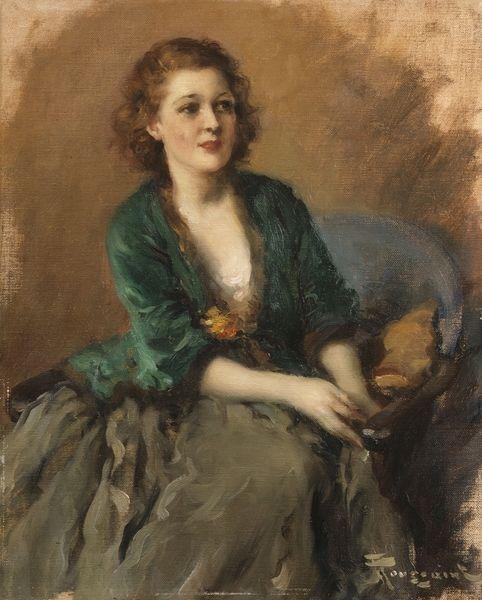 "Fernand TOUSSAINT - ""LADY IN GREEN"""
