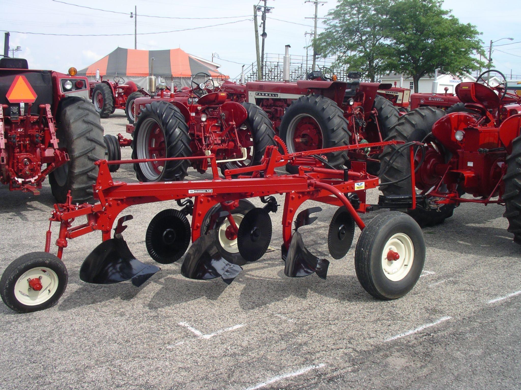 Ih No 70 Moldboard Plow Farm Machinery Farmall Tractors Farmall