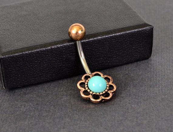 Colorline Opalescent Avice Belly Button Ring Sold Individually