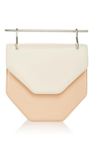 Amor fati in pastel orange & ivory by M2MALLETIER for Preorder on Moda Operandi