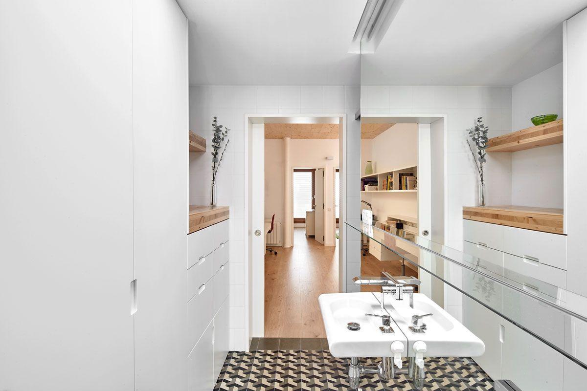 Vallriberaarquitectes 59rut casa entre mitgeres al centre de terrassa 05 peque o residencial - Arquitectos terrassa ...